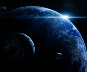 hd-Wallpaper-Earth-and-Planet-on-the-Universe